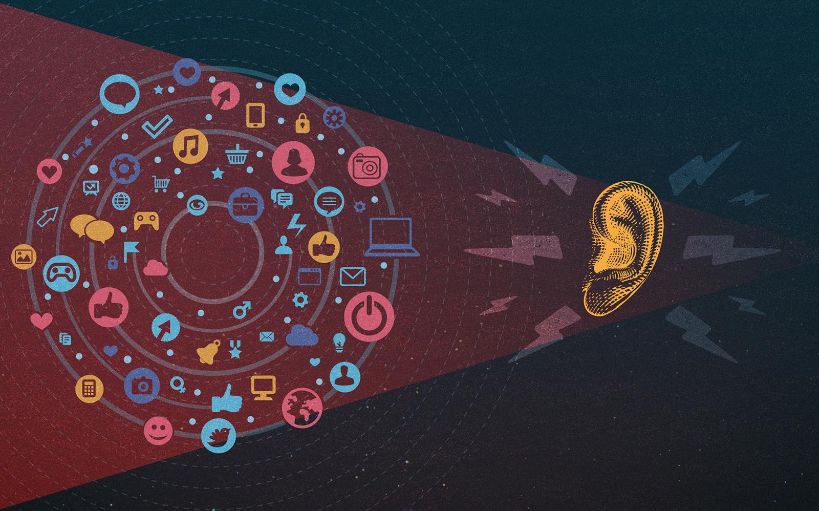 social listening, social media,