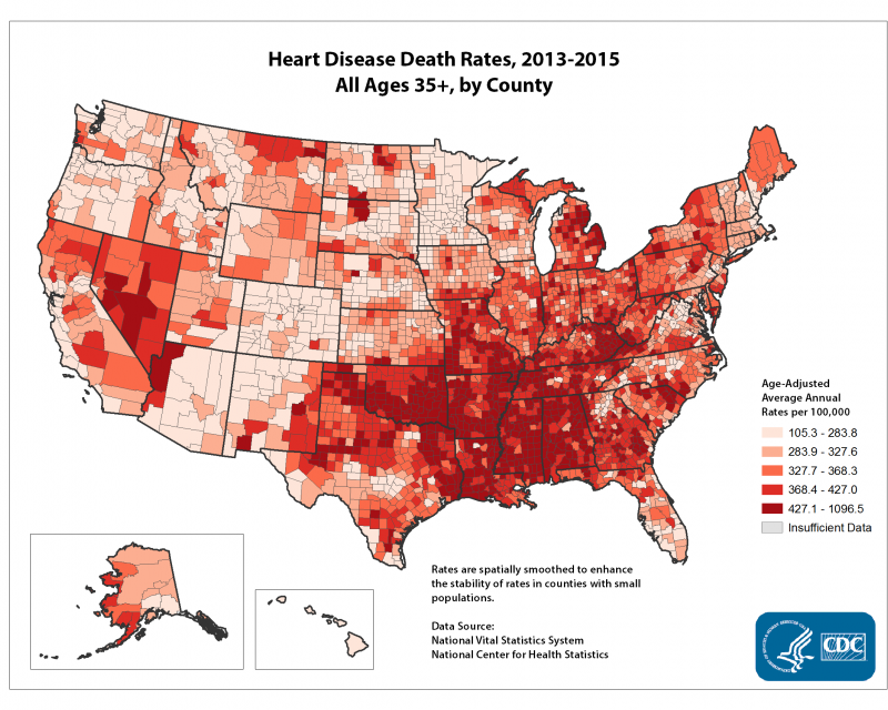 Heart Disease Death Rates