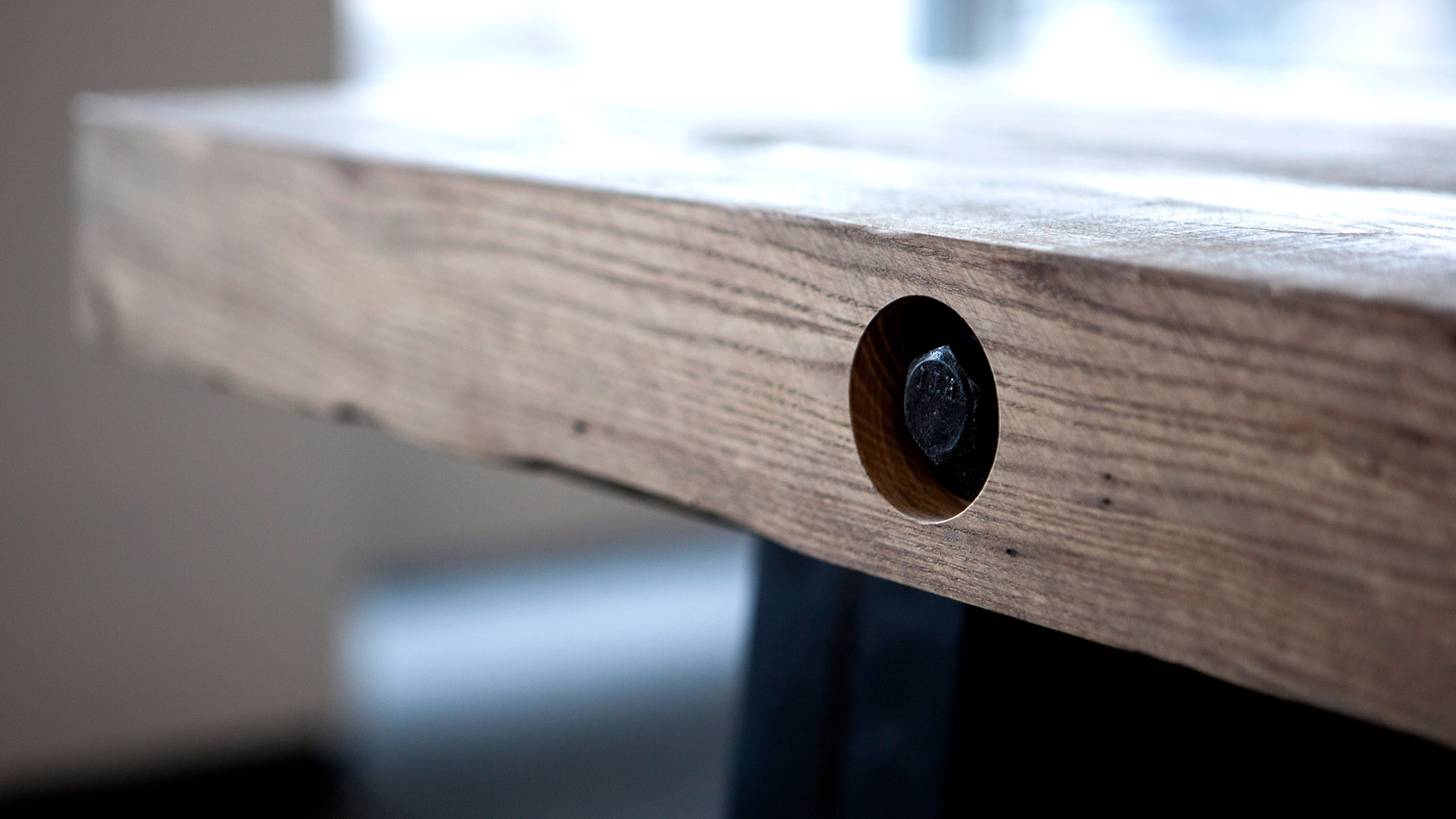 Side of Table with Bolt